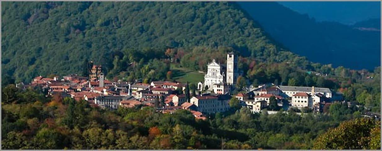 Orta Lake. Grazia Holidays Mansion - Miasino - Apartament