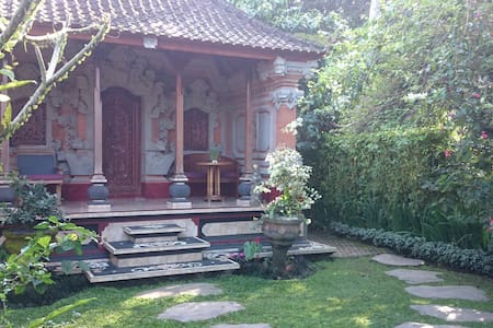 Charming Bali House, Rice Fields, Good Wifi, Yoga - Ubud