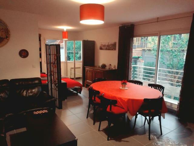 Grand appartement avec parking, Rouen