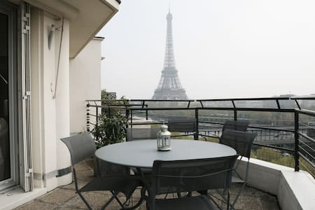 Charming bedroom with great view - Paris