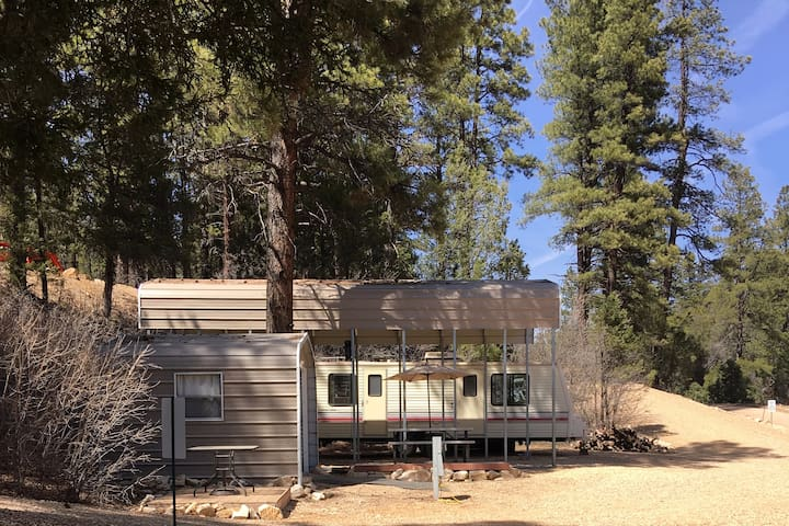 Rustic Pines just steps from Zion National Park! - Orderville - Camper
