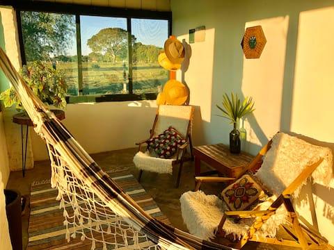 Casa da Baía: holiday rental in Pantanal Sul