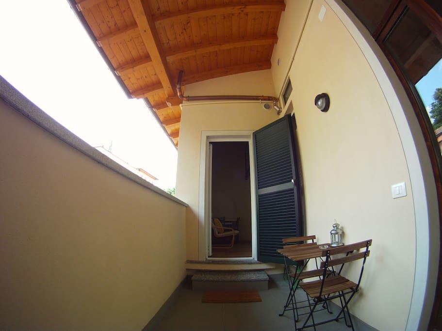 Balconcino abitabile