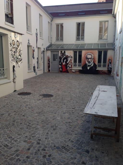 Maison d 39 artistes paris maisons louer saint ouen le de france france - Maison des artistes paris ...