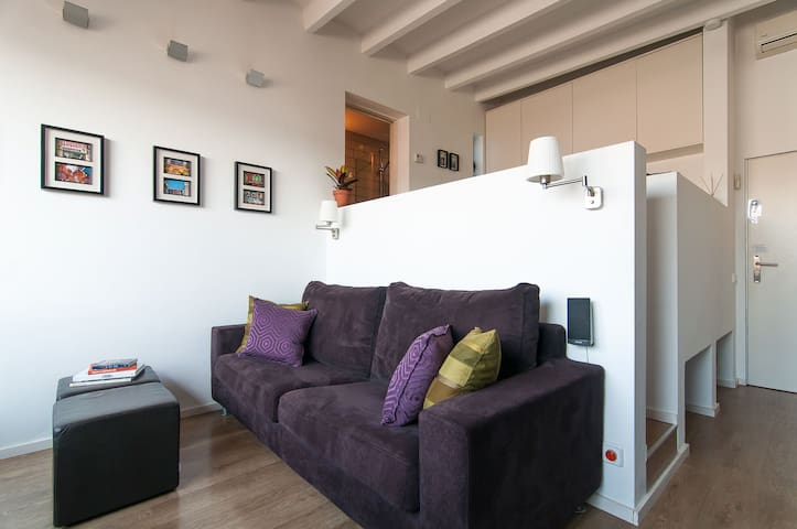 PANORAMIC SUNSET SUITE - Private Entrance + Patio! - Barcelona - Wohnung