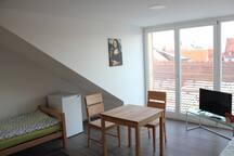Pensionszimmer mitten in Landshut