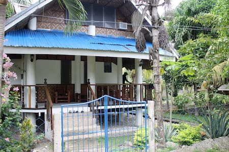 AC, kitchen, hammock, upstairs room - Moalboal - Pensió