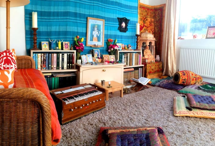 Our tranquil meditation space