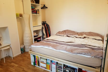 Room in a two room apartment close to Paris - Ivry-sur-Seine