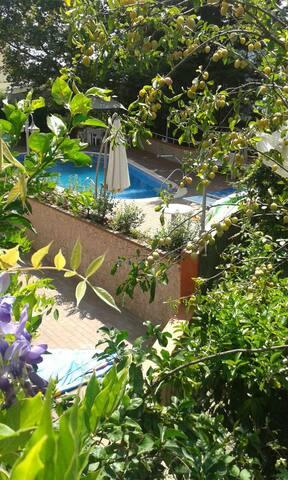 vista dal terrazzo privato - view from private terrace
