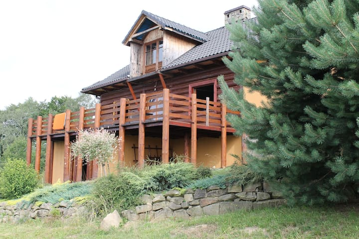 Beautiful timber house in mountains - Pcim