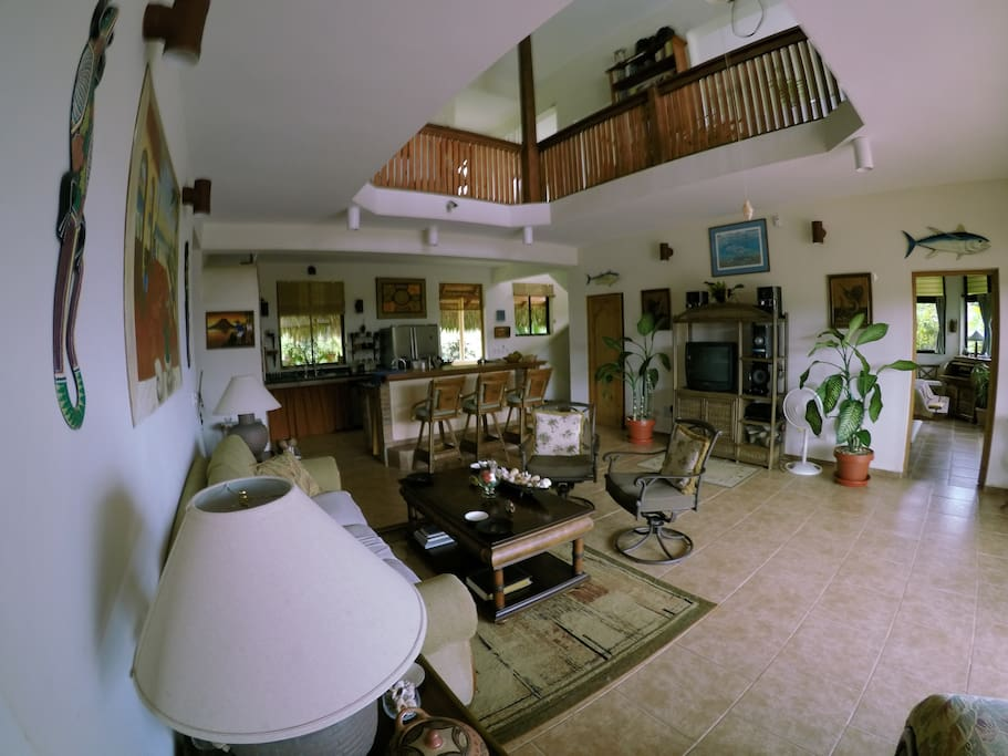 Enjoy open air living in our spacious living area.