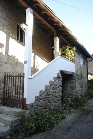 Casa típica gallega. Casa do Corral - Galicia, ES - Huis