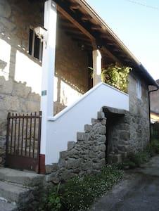 Casa típica gallega. Casa do Corral - Galicia, ES
