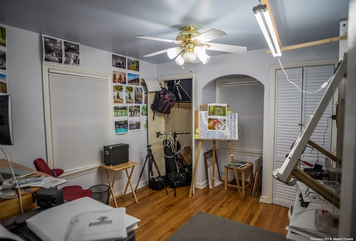 Studio for artistic expression