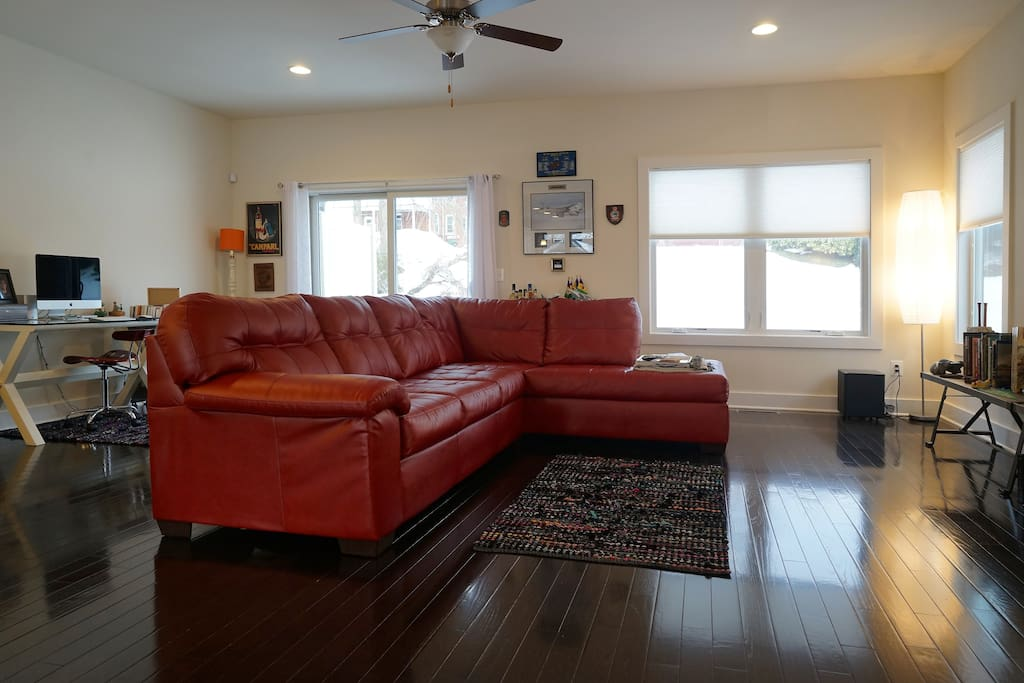 The main living space.
