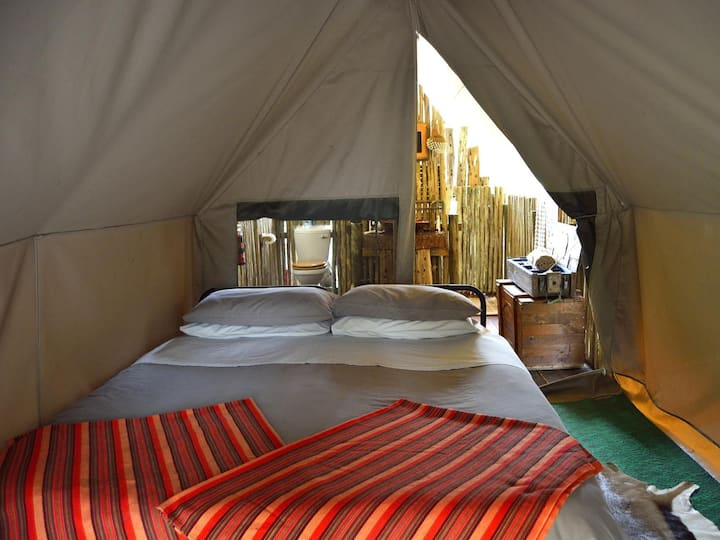 Double Tent in Quatermain's 1920's Safari Camp