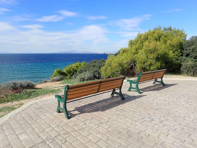 Athens Riviera,Kavouri 2 bdr apt - Vouliagmeni - Apartment