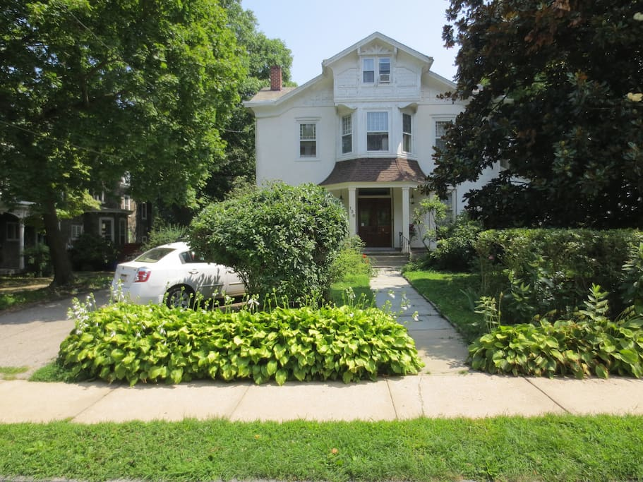 Front of Our House on West Walnut Lane - Summer 2014