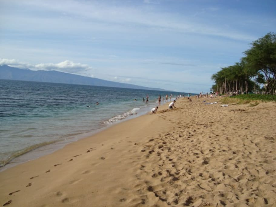 Kaanapali Beach nearby