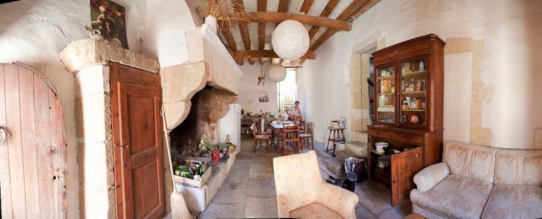 maison ancienne, 8 pièces, jardin