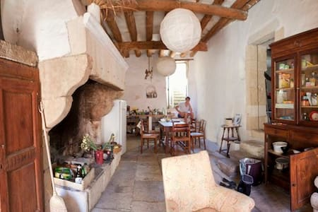 maison ancienne, 8 pièces, jardin - Meynes - Dům
