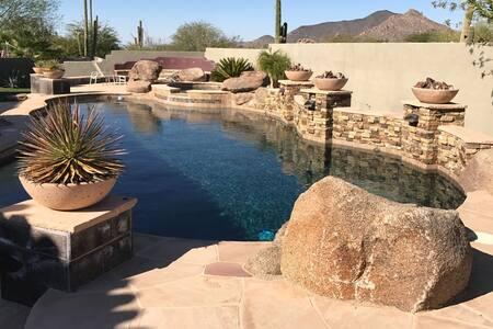 North Scottsdale Casita in Quiet Gated Community