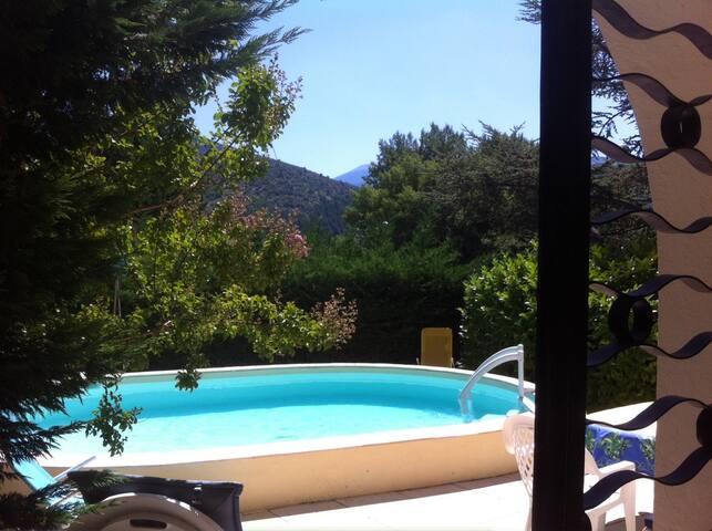 Appartement met prive zwembad - Mollans-sur-Ouvèze - Apartment