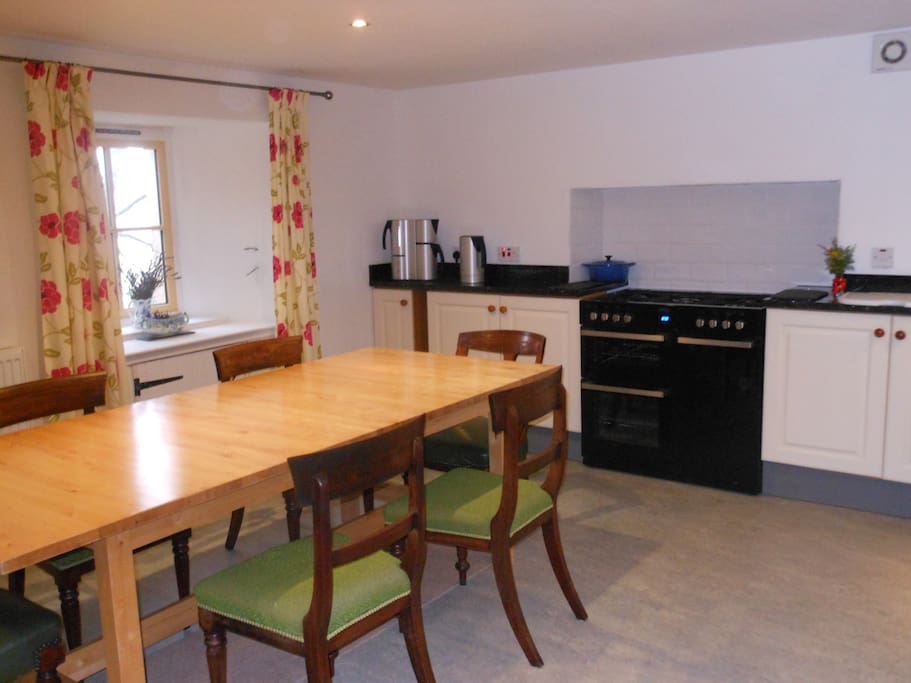 Our kitchen has plenty of space for entertaining