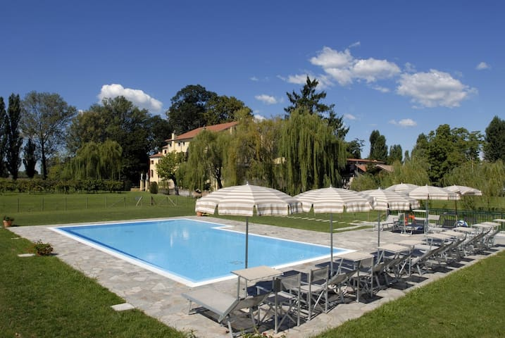 Apartment-villa pool in the nature - Vigonza - Flat