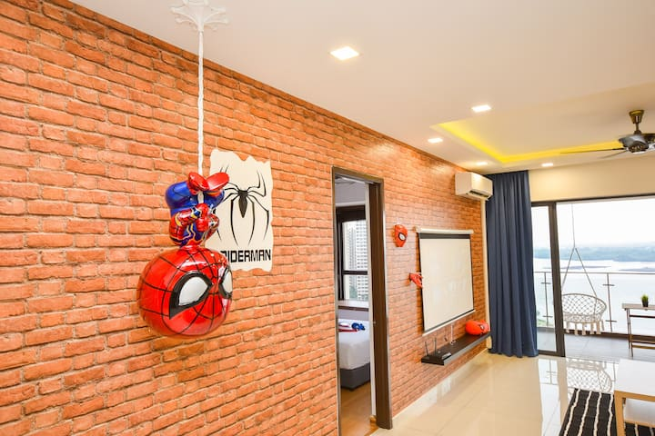⭐Superhero & Seaview!!⭐D'Marvel Suite by NestHome