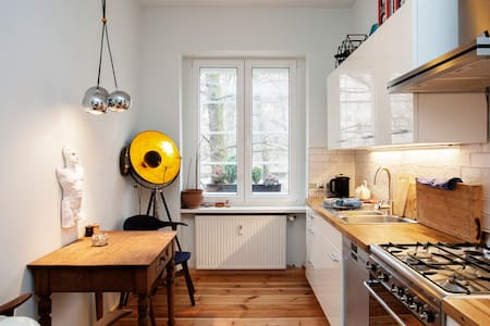 Charmante Wohnung am Treptower Park - Berlin - Wohnung