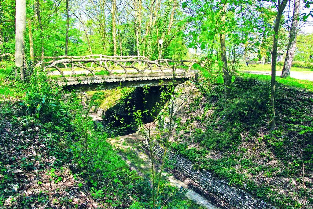 Le parc, inscrit au Patrimoine Historique