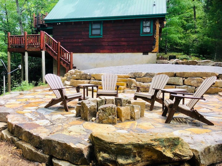 Get in touch with nature and escape the stress of everyday life at this beautiful cabin. If you are looking to have some relaxation time without being disturbed, then Secluded Escape is the one for you.