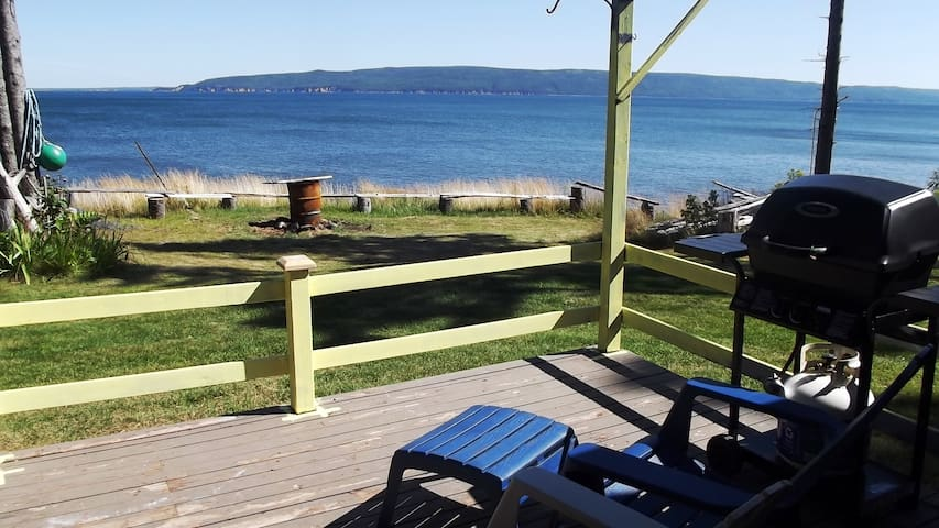 Ocean Front Cottage on Cabot Trail