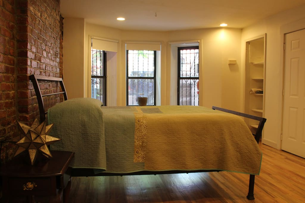 Main bedroom with separate entrance.