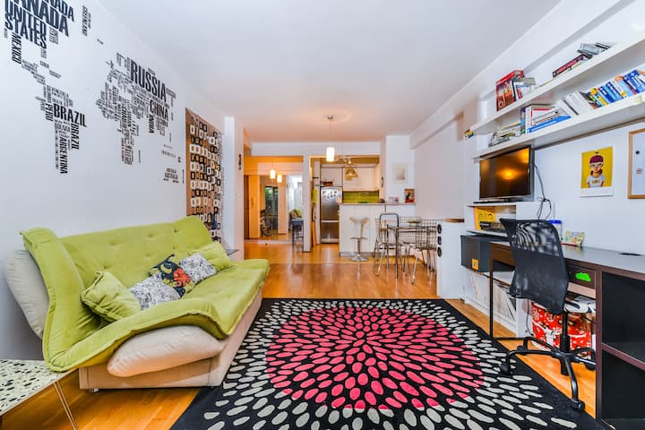 Cool & Cozy 1-BDR Flat | next to Zaimov Park