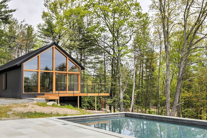 Modern Kerhonkson Home w/Pool on 12 Private Acres!