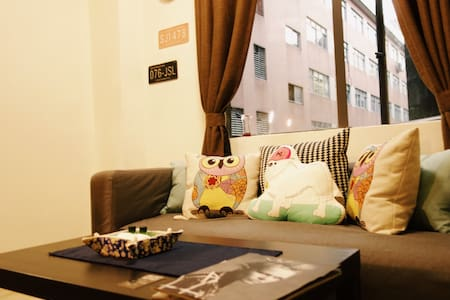 Cozy flat in City central,5min->MTR - Guangzhou - Appartement