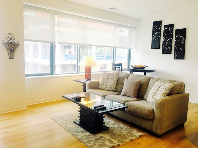 Webster Square gorgeous one bedroom