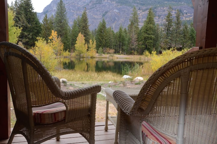 Four Sisters Lodge in Mazama-5 Bedrooms