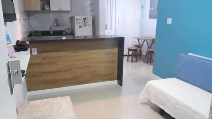 Apartamento na Barra - 300 metros da praia