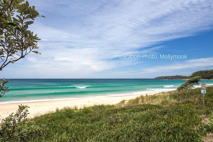 The Beach Caddy Shack - Mollymook Beach - Apartament