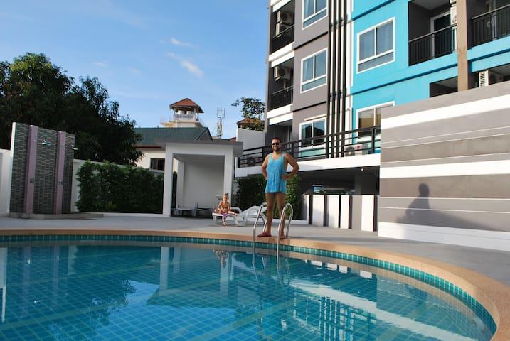 Уютная квартира с видом на горы - Kathu - Apartment