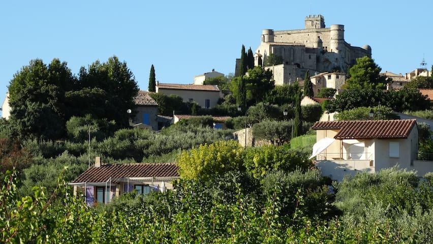 Logement très cosy aux coeurs des oliviers - Le Barroux
