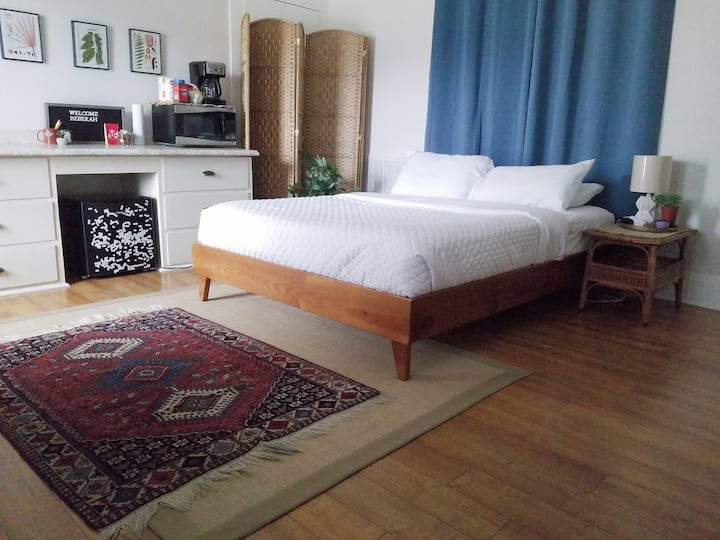 Charming Boho Suite Downtown with Private Entrance