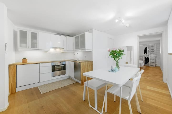 Attractive and central apartment, close to Bryggen