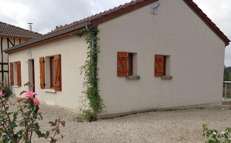Gite La Roseraie Giffaumont champaubert - Giffaumont-Champaubert - Rumah
