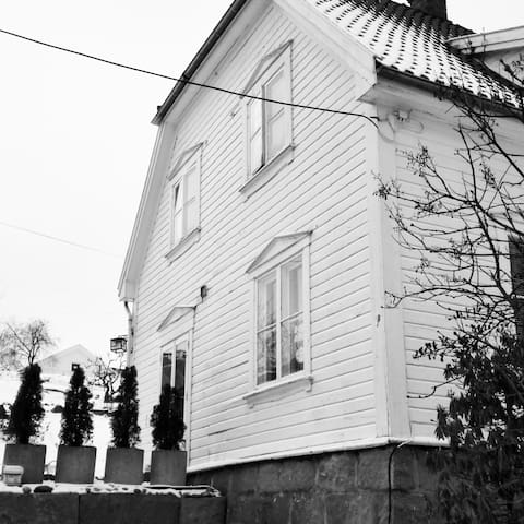 Cozy  and old close to centre - Fredrikstad - House