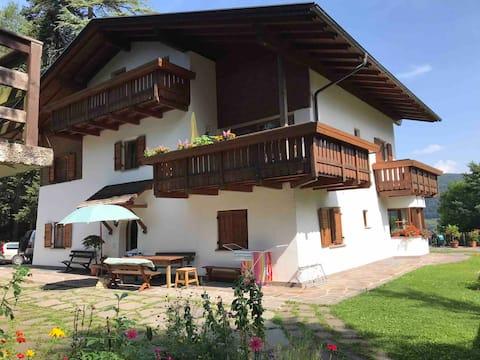 2-Zimmer-Wohnung in den Dolomiten